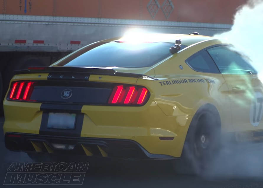 s550 Mustang Shelby Burnout