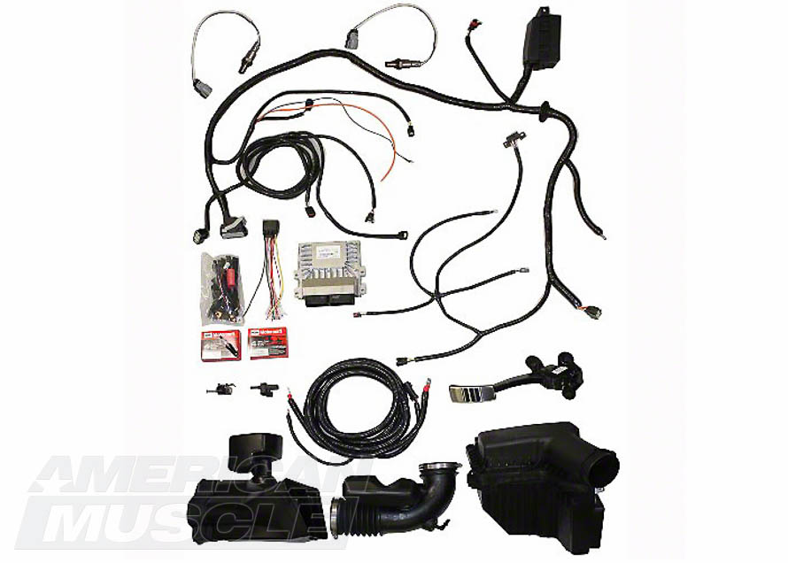 2015-2017 GT Mustang Engine Control Pack Wiring Harness