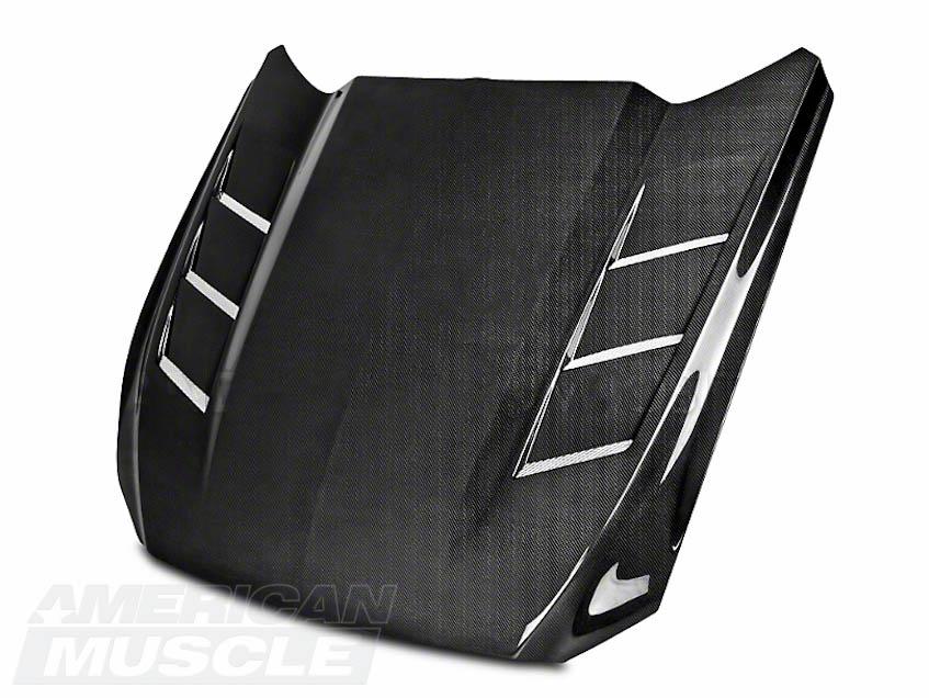 S550 Mustang Carbon Fiber Heat Extractor Hood