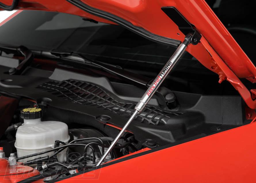 S550 Mustang Redline Hood Struts
