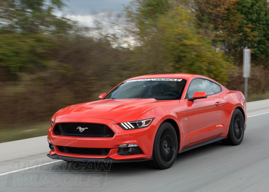 Stock 2015 Mustang GT