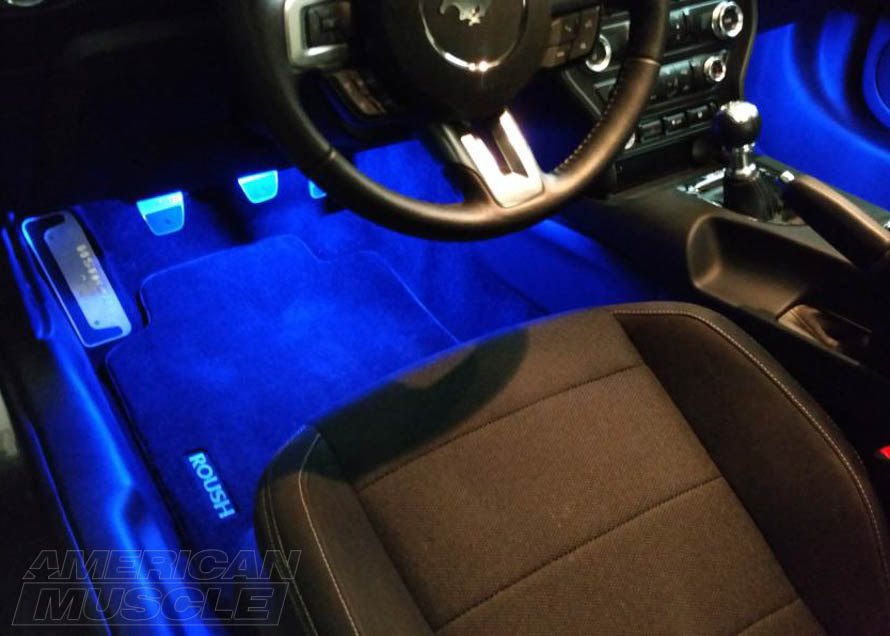 s550 Mustang Raxiom LED Footwell Lighting Kit