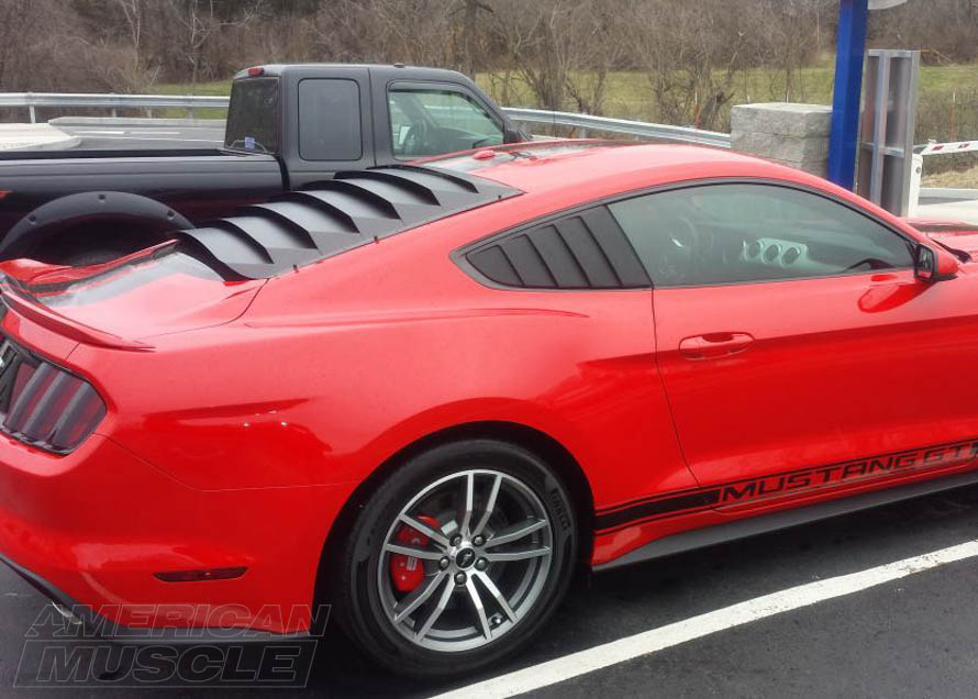 2015 Mustang Cervini's Quarter Window Louver