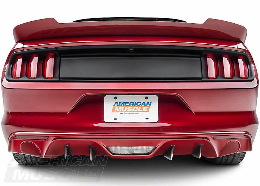Rear Diffuser Fins on a Non-Premium S550