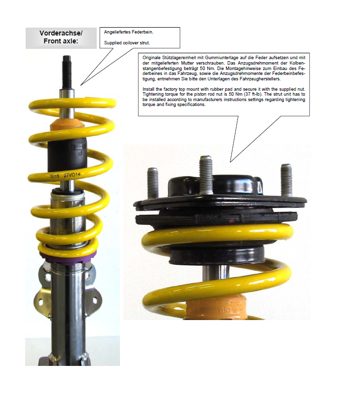 How to Install ST Suspension ST-X Height Adjustable Coilover Kit on