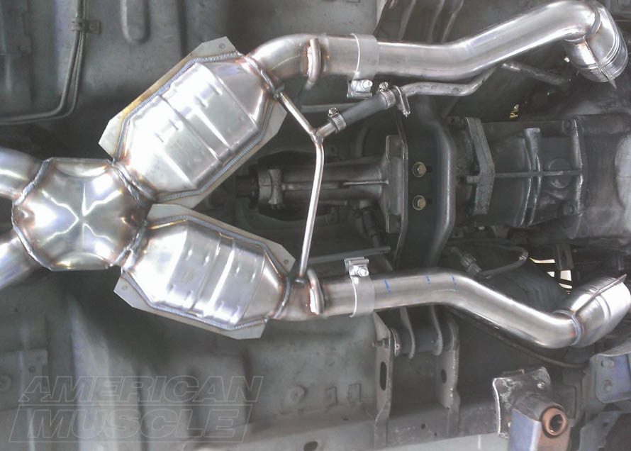 1986-1993 5.0L Foxbody Mustang Catted X-Pipe