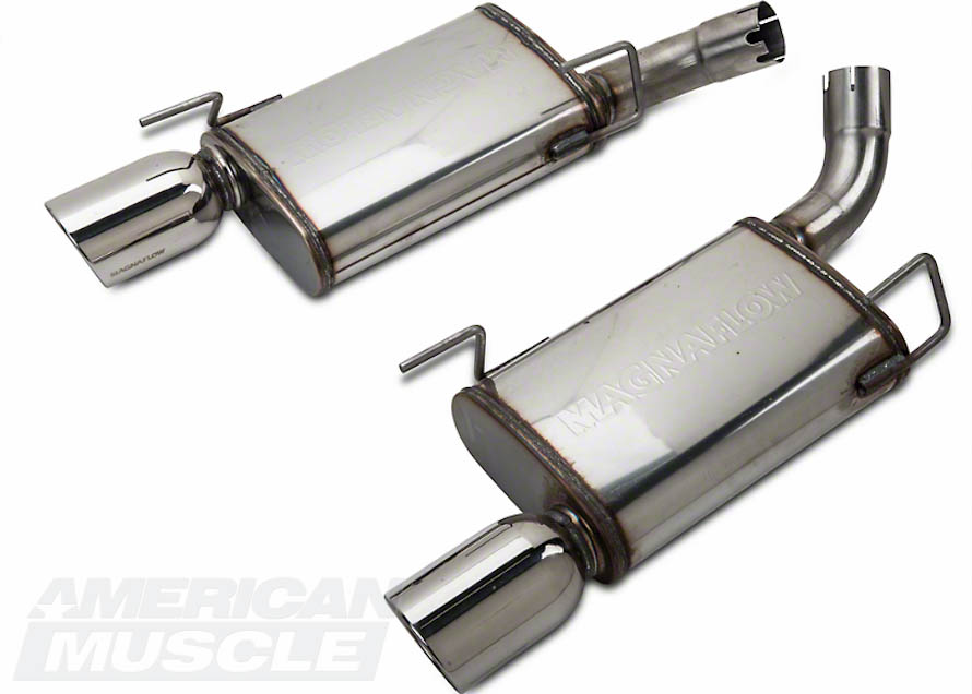 MagnaFlow Axle-Back Exhaust for 2005-2009 GT and GT500 Mustangs