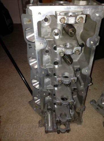 Ported Mustang Cylinder Head
