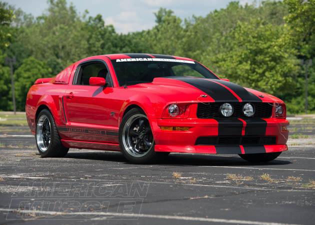 2007 GT Mustang with Bullitt Style Rims