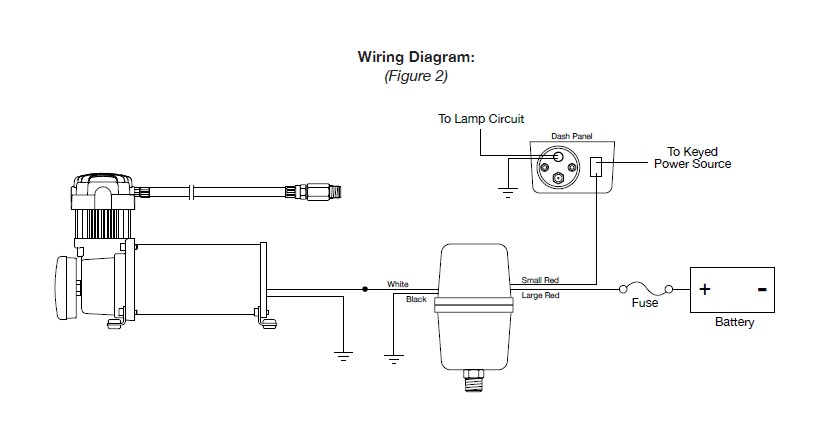 how to install viair heavy duty onboard air system 97 17 all on rh americantrucks com Water Well Pressure Switch Diagram Well Pressure Switch Diagram