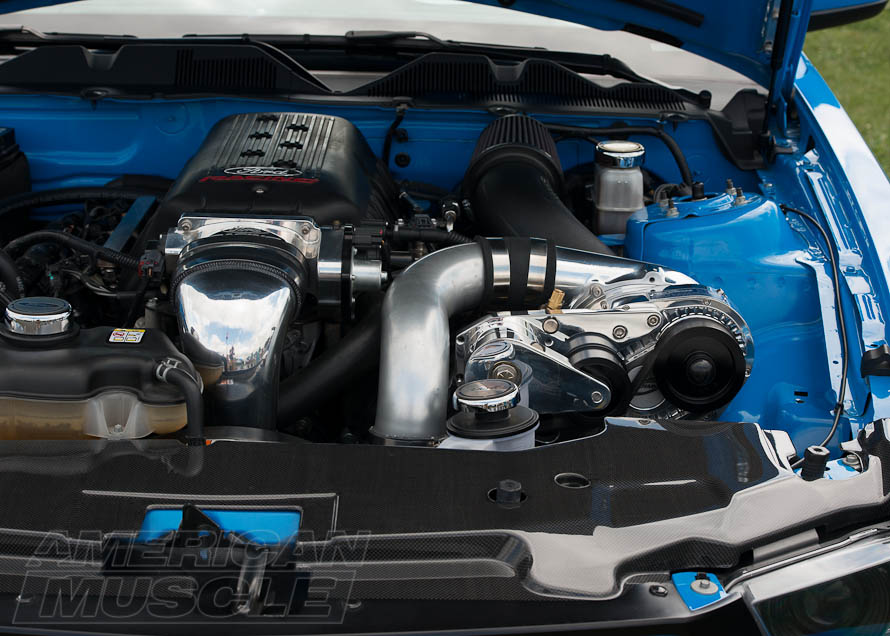 2010-2014 Mustang with a Centrifugal Supercharger