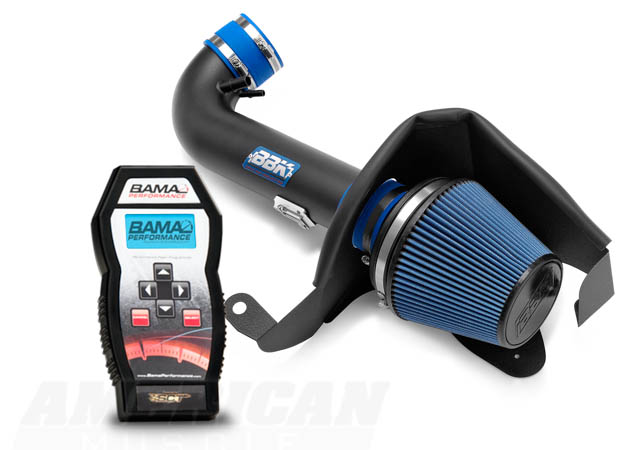 BAMA Tuner with a BBK Mustang Cold Air Intake