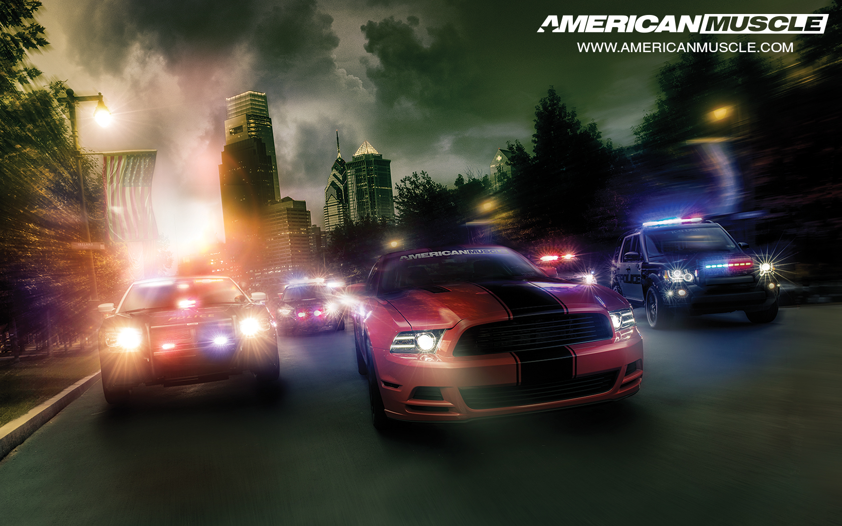 2015 AmericanMuscle Calendar | AmericanMuscle.com