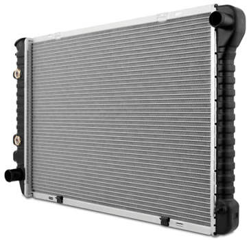 Product image of an OEM foxbody Mustang Radiator