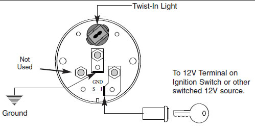 guide 13502 06 how to install an auto meter pro comp ultra lite voltmeter gauge voltmeter wiring diagram at fashall.co