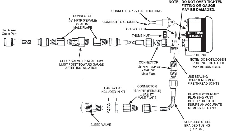 Wiring Diagram  35 Autometer Pro Comp 2 Wiring Diagram