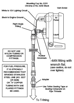 how to install an auto meter pro comp ultra lite boost vac. Black Bedroom Furniture Sets. Home Design Ideas