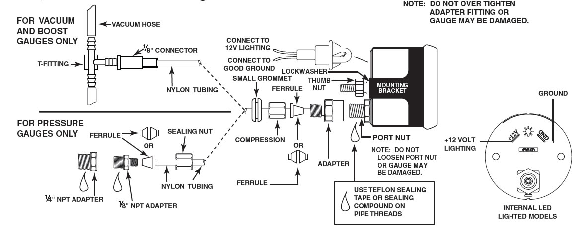 Wiring Diagram For Auto Meter - WIRE Center •