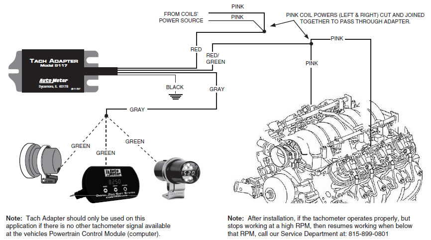 How To Install A Ford Racing Tachometer W Shift Light On Your: Faze Tachometer Wiring Diagram At Imakadima.org