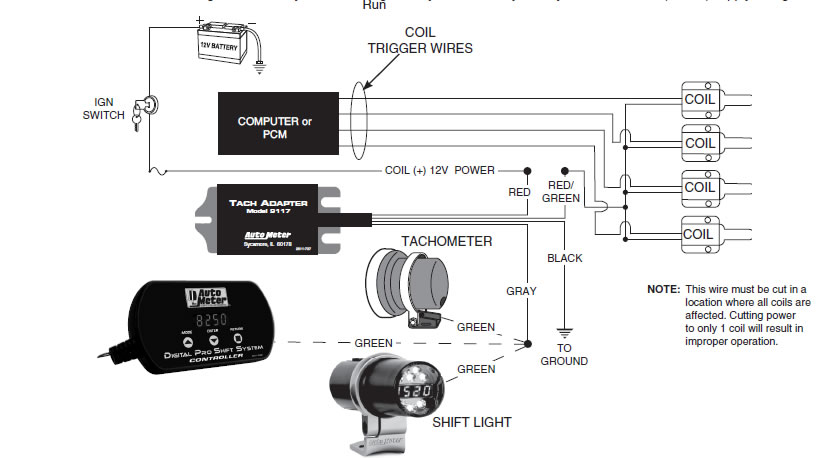 Autometer Pro Comp Tach Wiring Diagram from lib.americanmuscle.com