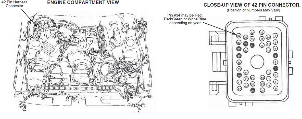 guide 13516 01 how to install an auto meter tach adapter on your mustang mustang wire harness at bayanpartner.co