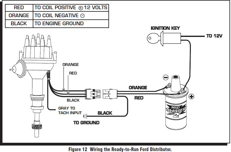 guide 14204 12 how to install a msd pro billet ready to run distributor on your Trailer Wiring Diagram at alyssarenee.co