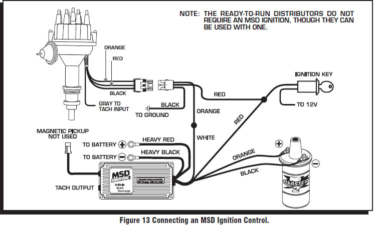 guide 14204 13 how to install a msd pro billet ready to run distributor on your msd ready to run distributor wiring diagram at sewacar.co