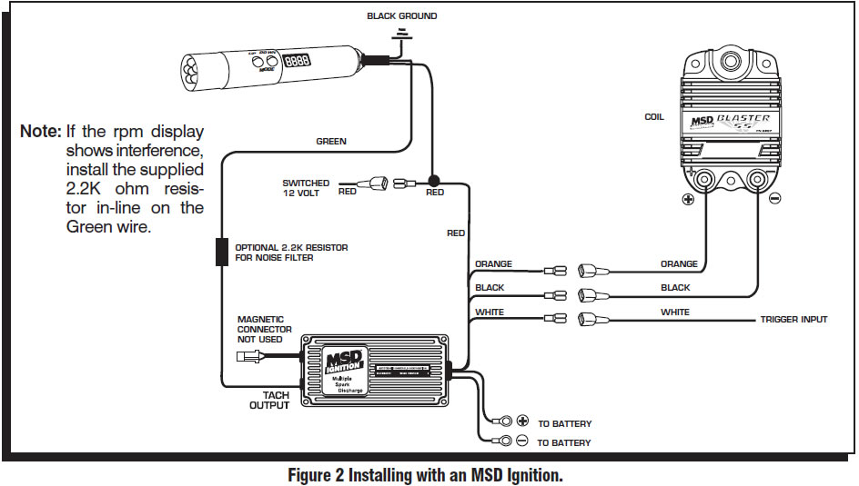 guide 14211 02 how to install an msd programmable digital shift light on your shift light wiring diagram at edmiracle.co