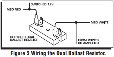 guide 14221 14222 07 how to install an msd 6a digital ignition module on your 1979 1995 ballast resistor wiring diagram points at gsmportal.co