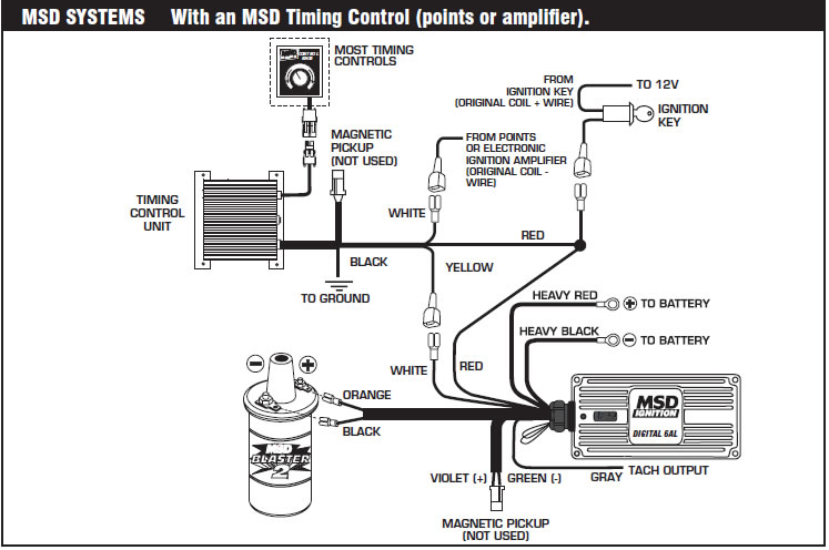 How to install an MSD 6A Digital Ignition Module on your 1979-1995  Jeep Cj Key Switch Wiring Schematic on jeep wiring diagram, dodge durango wiring schematic, dodge neon wiring schematic, jeep wrangler tj wiring schematic, dodge challenger wiring schematic, chevy avalanche wiring schematic, dodge charger wiring schematic, toyota camry wiring schematic, s10 wiring schematic, ford expedition wiring schematic, jeep yj wiring schematic, jeep patriot wiring schematic, jeep jk wiring schematic, ford ranger wiring schematic, jeep cherokee wiring schematic, dodge caravan wiring schematic, suzuki samurai wiring schematic, jeep comanche wiring schematic, jeep fuel gauge wiring for 1972, kia sportage wiring schematic,
