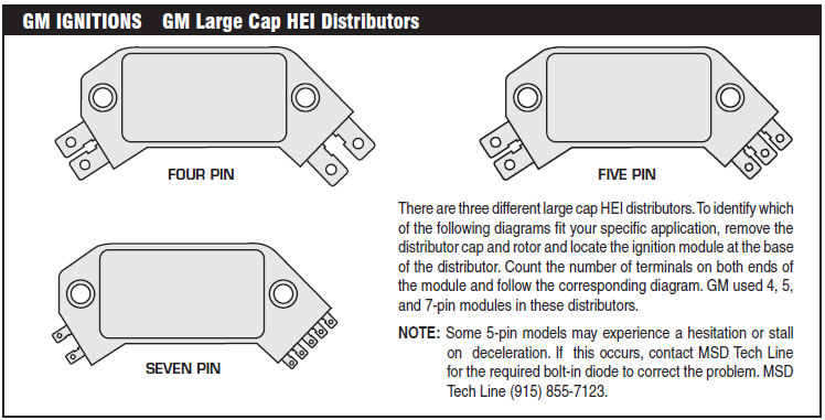 The Following Wiring Diagrams Illustrate Numerous Installations On Different Vehicles And Applications If You Experience Difficulties When Installing Your: GM Electronic Ignition Wiring Diagram At Shintaries.co