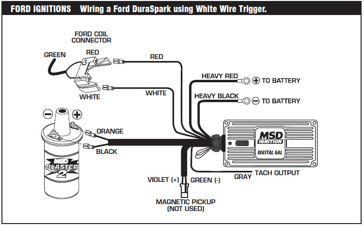 How to install an MSD 6A Digital Ignition Module on your 1979-1995 Mustang  | AmericanMuscle | Wiring Msd 6 Into 1978 Ford |  | American Muscle