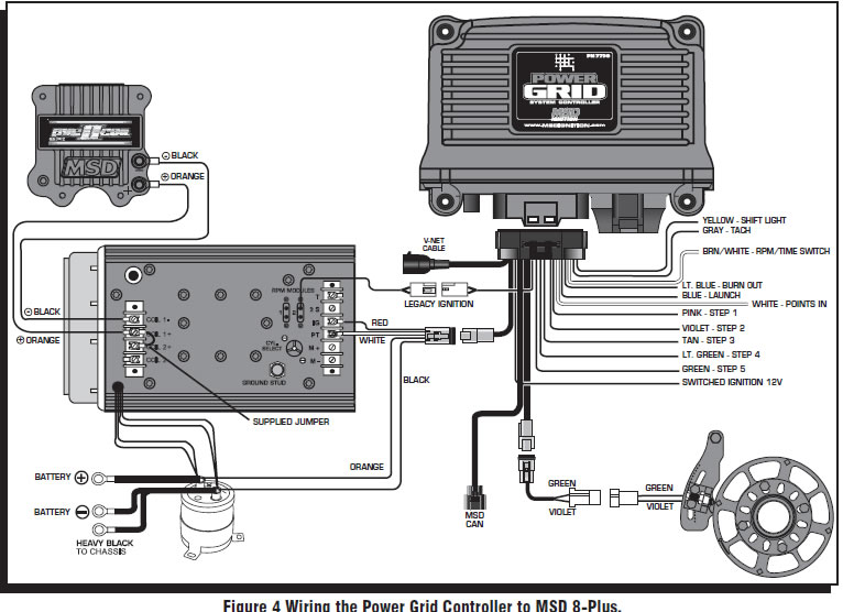 How to install an msd power grid system on your 1979 1995 mustang alerts sciox Images