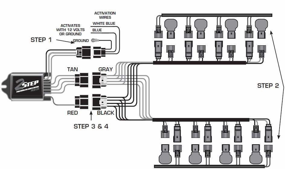 guide 14226 01 how to install a msd launch master 2 step rev limiter on a 2011 msd 2 step wiring diagram at couponss.co