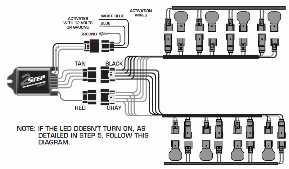 guide 14226 02 how to install a msd launch master 2 step rev limiter on a 2011 msd 2 step wiring diagram at panicattacktreatment.co