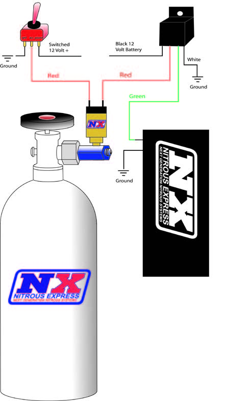 guide 25008 01 how to install an nx bottle heater d 4 on your 1979 2012 mustang nitrous express wiring diagram at edmiracle.co