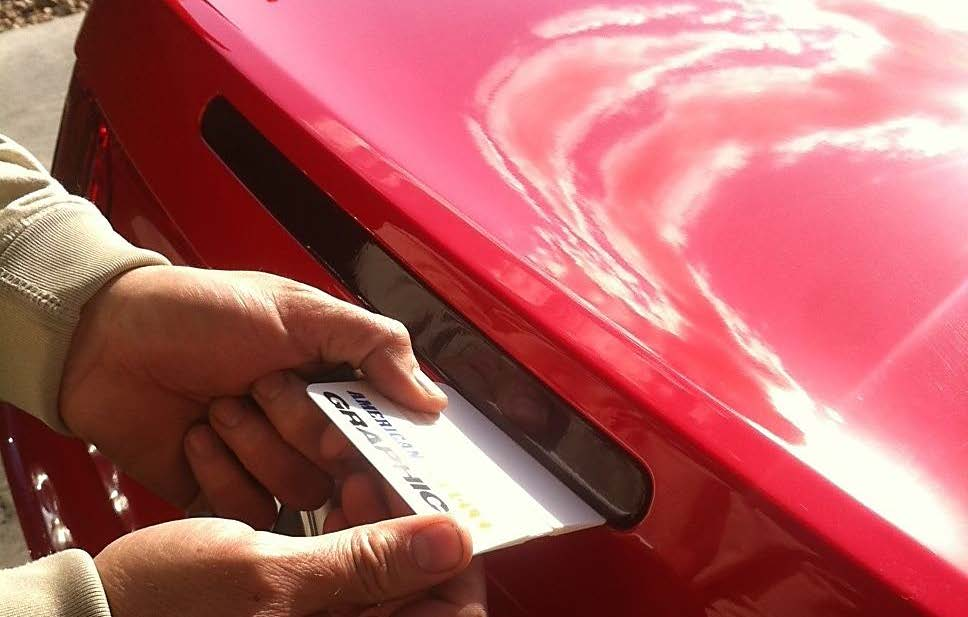 how to take off window tint with a heat gun