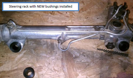How to Install Standard Steering Rack Bushings on Your 1985-2004