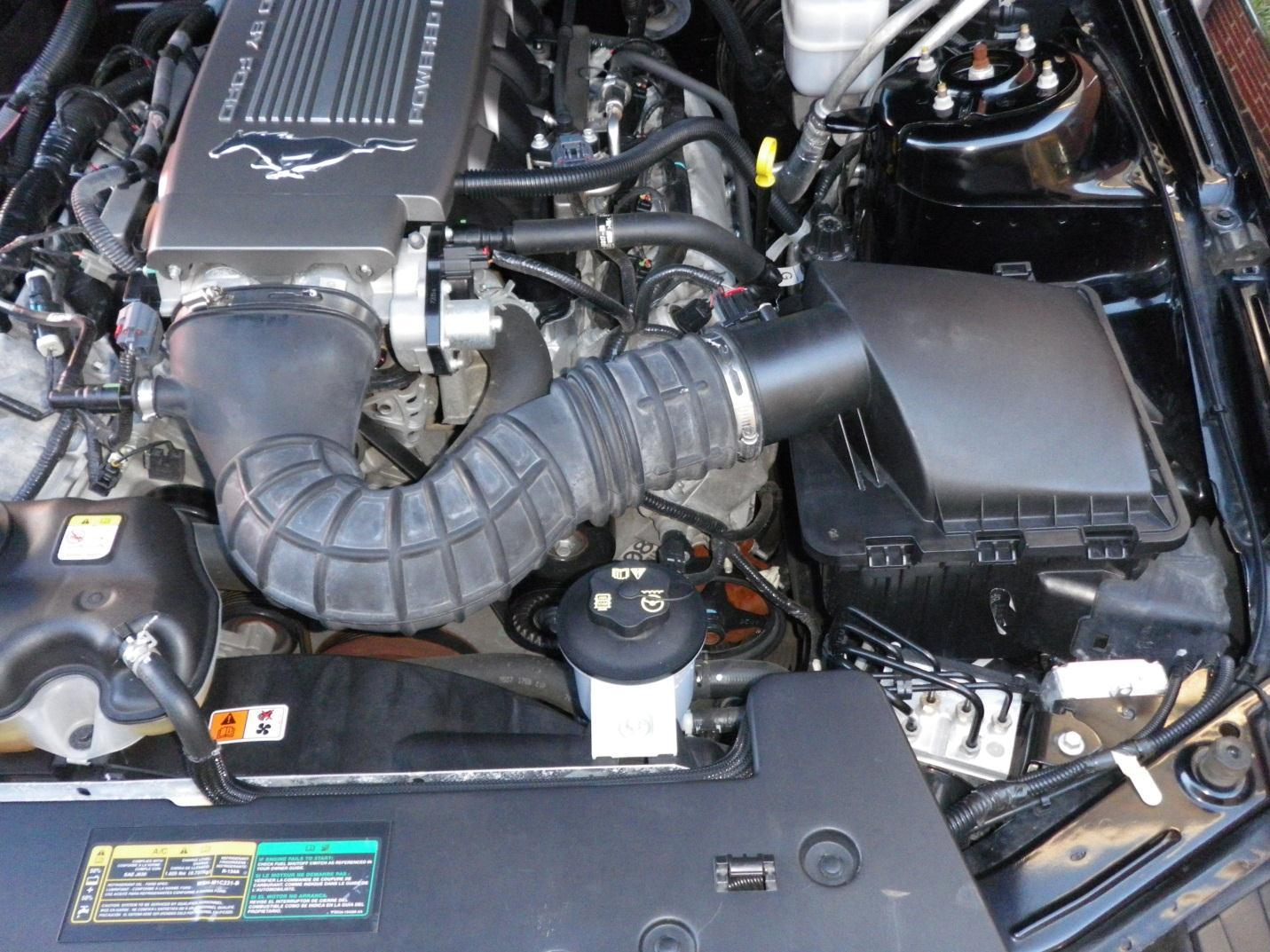 How To Install A Ford Racing 85mm Cold Air Intake For 2005 2009