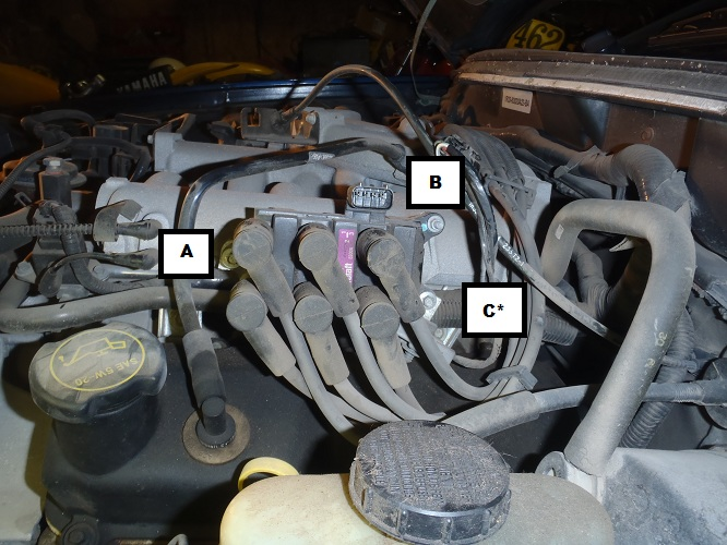 how to install a coil pack on your 2001 2004 v6 mustang americanmuscle rh americanmuscle com Mustang 4.0 V6 Engine 2002 mustang 3.8 engine diagram