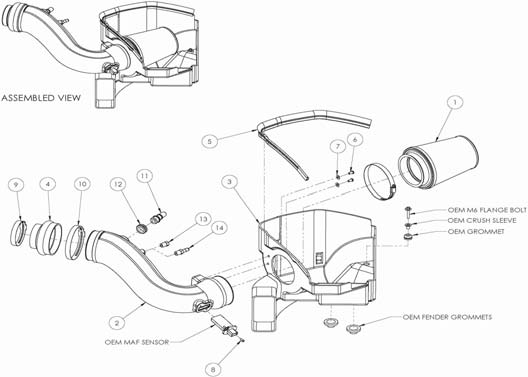 How To Install A Airaid Cold Air Intake On Your 2011 2012 Mustang