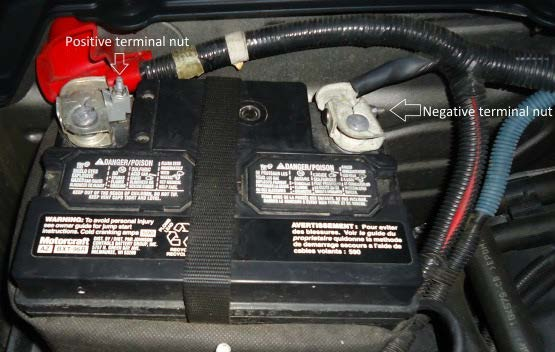Touching Positive And Negative Car Battery