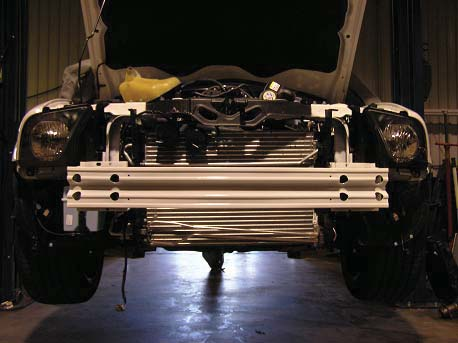 How to install a AFCO Double Pass Heat Exchanger on your Mustang ...
