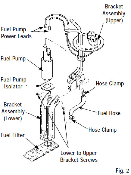 how to install an edelbrock fuel pump 255lph on your 1985 1997 5 0 1991 mustang gt wiring-diagram pump removal and replacement
