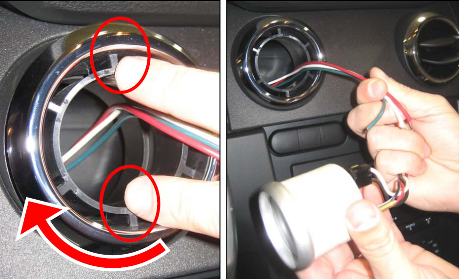 How To Install A Roush Vent Gauge Pod On Your 2005 2009