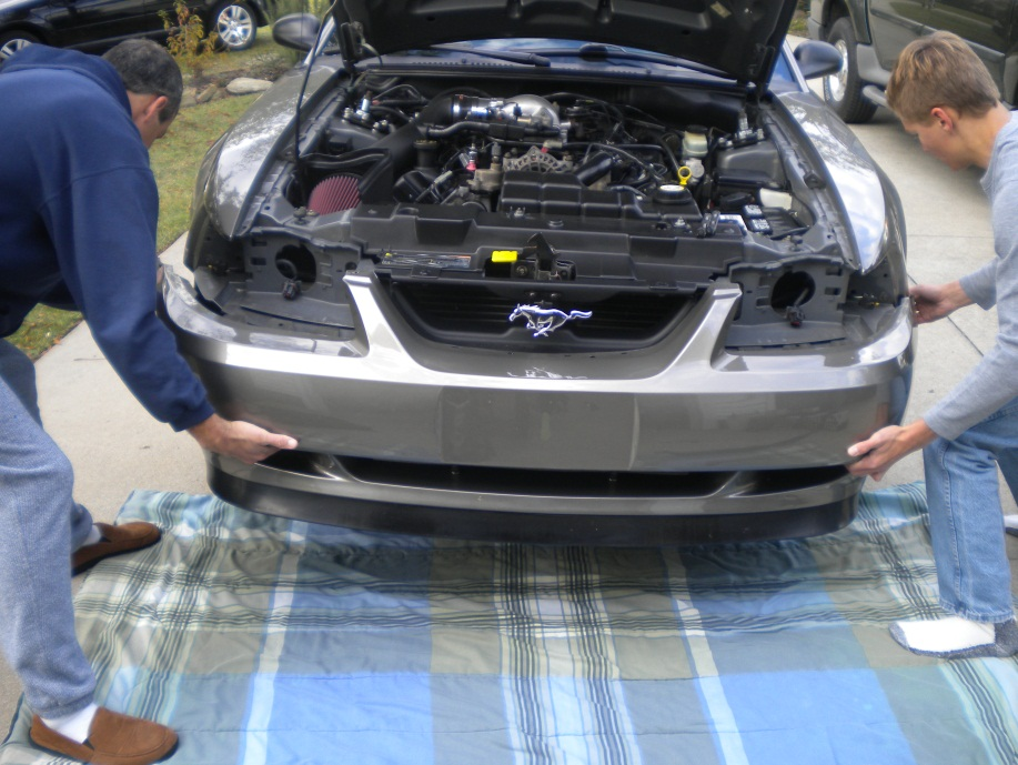 How To Install A Front Bumper Cover Unpainted On Your 1999 2004