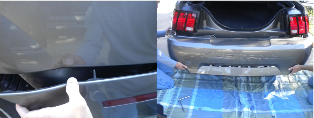 How To Install A Rear Bumper Cover Unpainted On Your 1999 2004