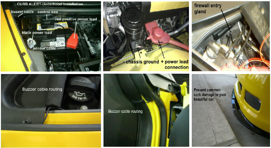 how to install a curb alert front air dam sensor on your 1979 2012 2004 Mach 1 Oil Pan 2004 mach 1 fuse box