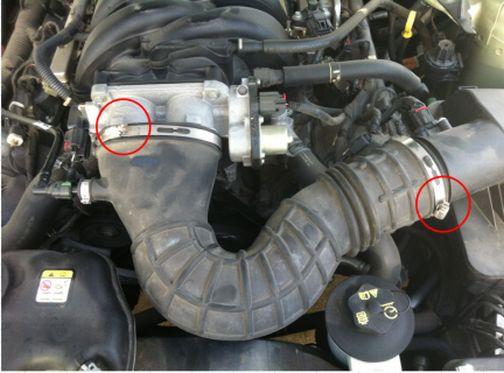 Long Handled Ratchet Insert It Into The Belt Tensioner Then Turn Breaker Bar To Right Loosening Remove From Alternator