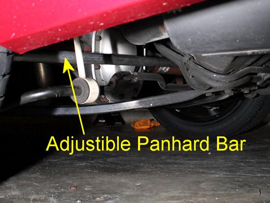 J Amp M Mustang Adjustable Panhard Rod 05 10 V6 05 11 Gt